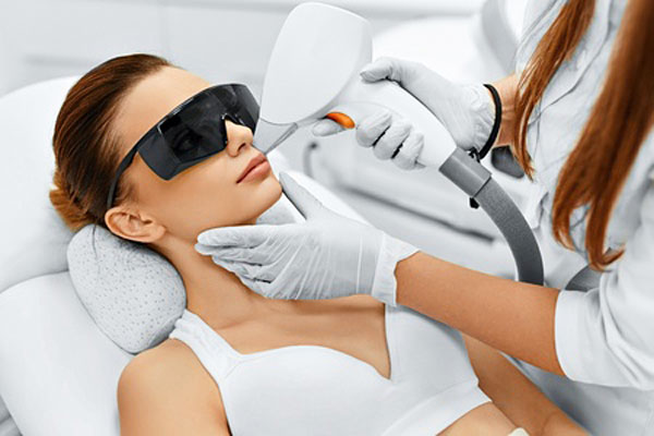 dermatologist sun damage laser treatment